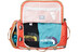 The North Face Base Camp Duffel L Poinciana Orange/Dijon Brown